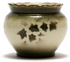 Transvaal Pottery; Vessel with Ivy Leaves