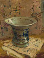 Adriaan Boshoff; Composition with Ceramic Vessel