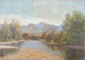 Vera Volschenk; The Berg River, Paarl