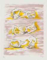 Henry Moore; Reclining Figures