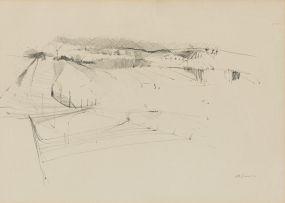 Lionel Abrams; Abstract Landscape