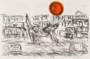 David Koloane; The Dog and the Moon
