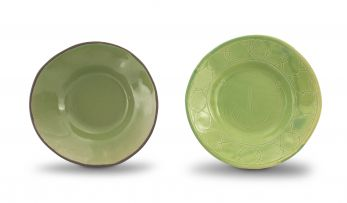 Hylton Nel; Green Dishes, two