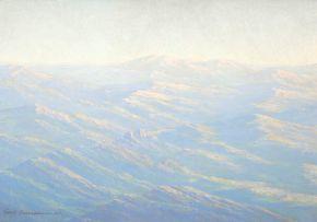 Carl Ossmann; Namibian Landscape