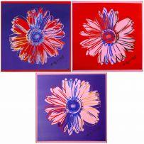 Andy Warhol; Daisies, three