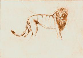 Susan Orpen; Lion