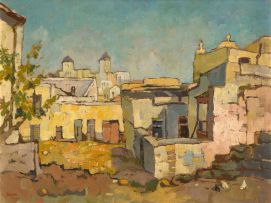 Gregoire Boonzaier; The Malay Quarter, Cape Town