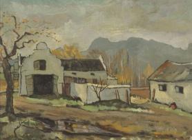 David Botha; Cape Buildings in Winter