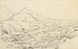 François Krige; Cape Landscape