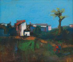 Tadeusz Jaroszynski; Evening Landscape