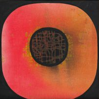Larry Scully; Red Abstract