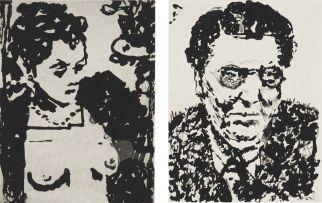 William Kentridge; Lulu, Alban, two
