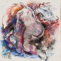 Jan Visser; Kneeling Nude
