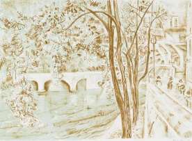 Thijs Nel; View of the Seine