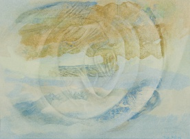 Thijs Nel; Mozart (Composition with Swirling Figure)