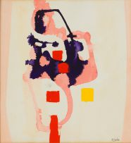 Arthur Edward Cantrell; Abstract Composition in Pink