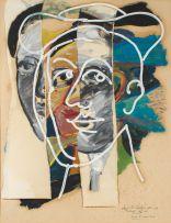 Christo Coetzee; Head 8 with Hat
