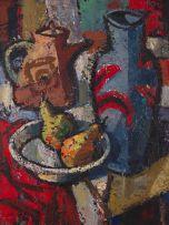Hennie Niemann Jnr; Still life with Pears