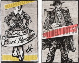 William Kentridge; Rumours and Impossibilities; Entirely Not So, two