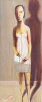 Deborah Bell; See-Line Woman Dressed in White, Sleep All Day Bawl All Night
