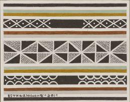 Esther Mahlangu; Ndebele Design II