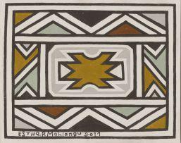Esther Mahlangu; Ndebele Design I