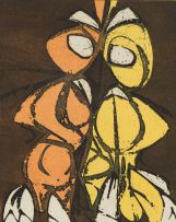 Maurice Kahn; Two Abstract Forms