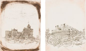 Dirk Meerkotter; Johannesburg Hospital Centenary – The Old and New Buildings, two