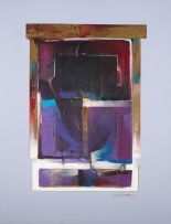Derric van Rensburg; Purple Abstract