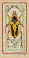 Jacob Hendrik Pierneef; Ontwerp (Design with Beetle)