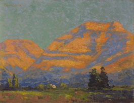 Jacob Hendrik Pierneef; Sunlit Mountains, Clarens
