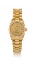 Gentleman's 18ct yellow gold Oyster Perpetual Datejust Rolex automatic wristwatch Ref.68278