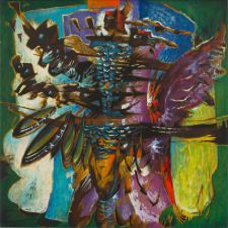 Alexis Preller; Abstract Janus