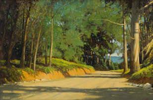 Walter Gilbert Wiles; Road through the Trees