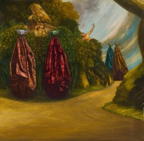 Mathew Brittan; What are We, Where do We Come From, Where are We Going I, from the Painting in the Old Style series