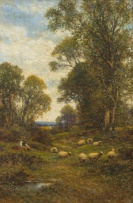Alfred Glendening, Snr; Watching the Sheep
