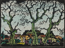 Gregoire Boonzaier; Trees and Houses