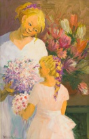 Marjorie Wallace; Mother and Child