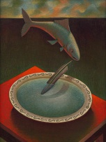 Kevin Roberts; Fish, Feather and Bowl