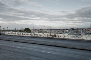 David Lurie; The People Shall Share in the Country's Wealth, Khayelitsha, Cape Flats