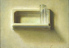 Andries Gouws; Soap Dish with Glass, Madrid