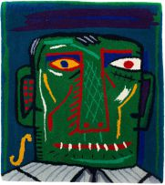 Norman Catherine; Face Rug