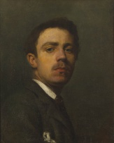 Continental School 19th Century; Portrait of a Young Man