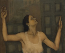 Shany van den Berg; Woman with Raised Arms