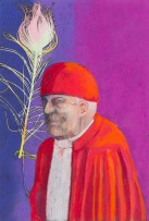 Gregory John Kerr; Portrait of Cardinal with Feather