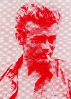 Russell Young; James Dean (Red and White)