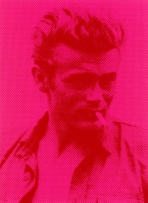 Russell Young; James Dean (Pink and Red)