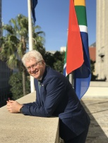 A lunch for ten at the Premier of the Western Cape's private estate, Leeuwenhof, hosted by Premier Alan Winde and his wife, Tracy Winde
