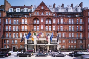 Champagne Afternoon Tea for Two at Claridge's Hotel in London
