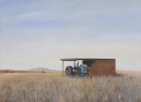 Keith Alexander; The Blue Tractor